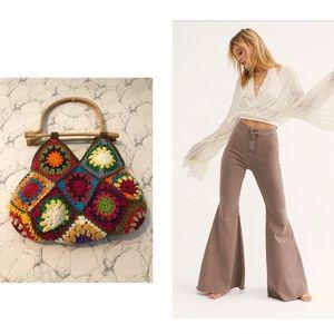 Crochet Mini Handbag Multi